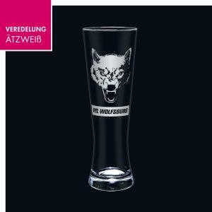 Weizenbierglas VfL Wolfsburg
