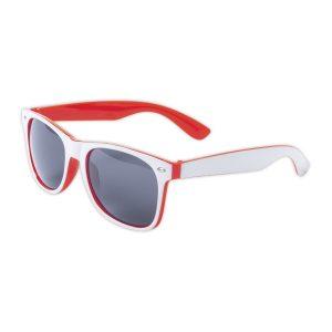 Sonnenbrille rot