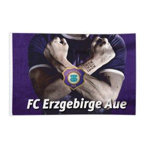 Fahne Erzgebirge Aue