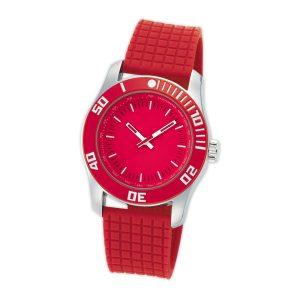 Armbanduhr rot