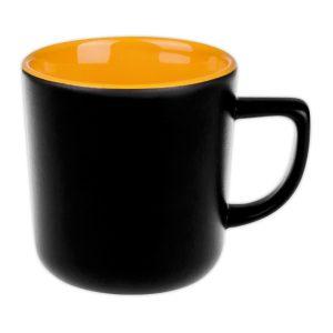 Kaffeebecher gelb
