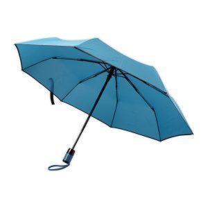 Taschenschirm hellblau