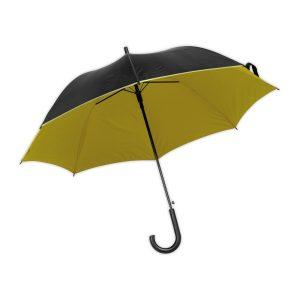Regenschirm gelb-schwarz