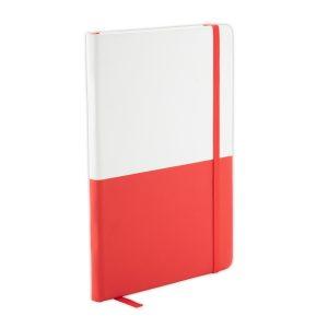 Notizbuch Letter Colour rot